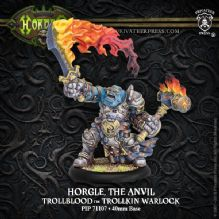 Horgle the Anvil - Trollbloods Warlock (resin/metal)